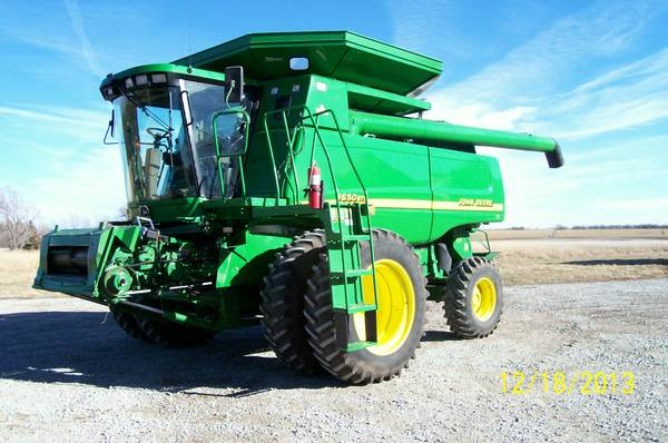 John Deere 9650 STS Combine For Sale in Kenya