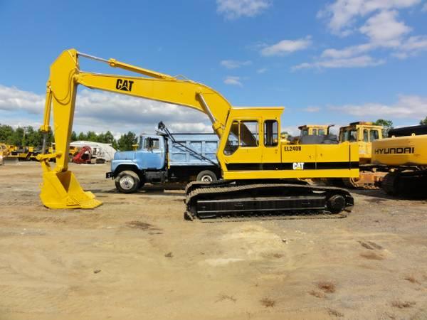 Caterpillar EL240B Excavator