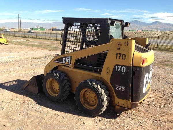 Cat Skid Steer Axle : Caterpillar skid steer loader