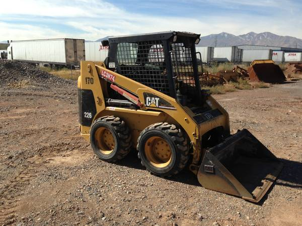 Caterpillar 226 Skid Steer Loader for sale