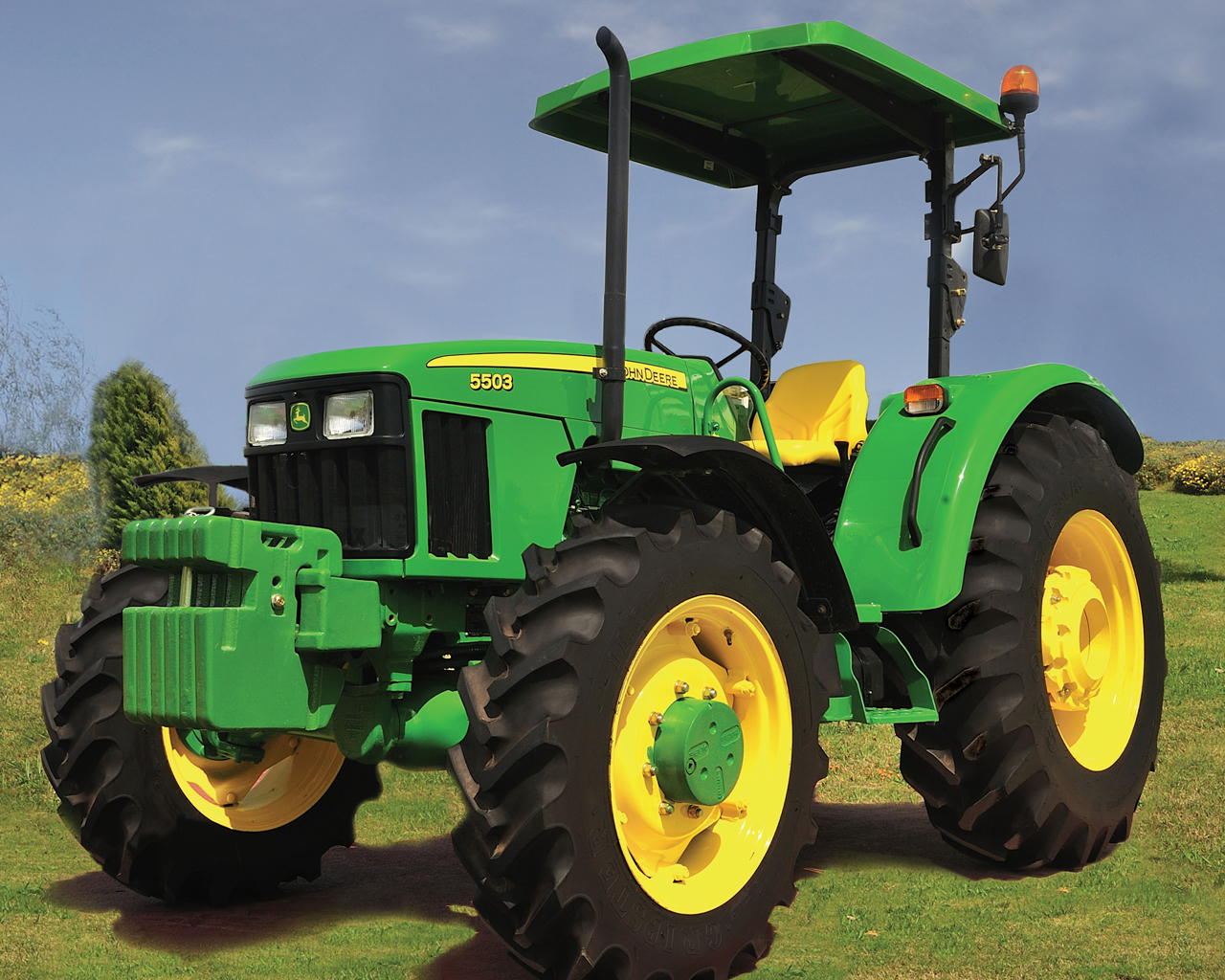 John Deere 5503 Tractor for sale in Kenya